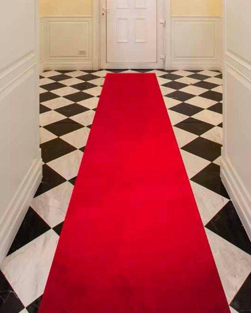 passatoia velvy rosso - Kobel Srl- Pavimenti, rivestimenti e tessili per il tuo business