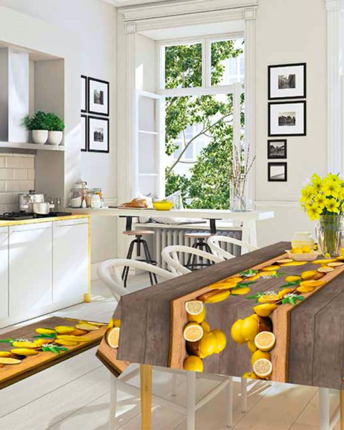 tovagliati sprinty lemon - Kobel Srl- Pavimenti, rivestimenti e tessili per il tuo business