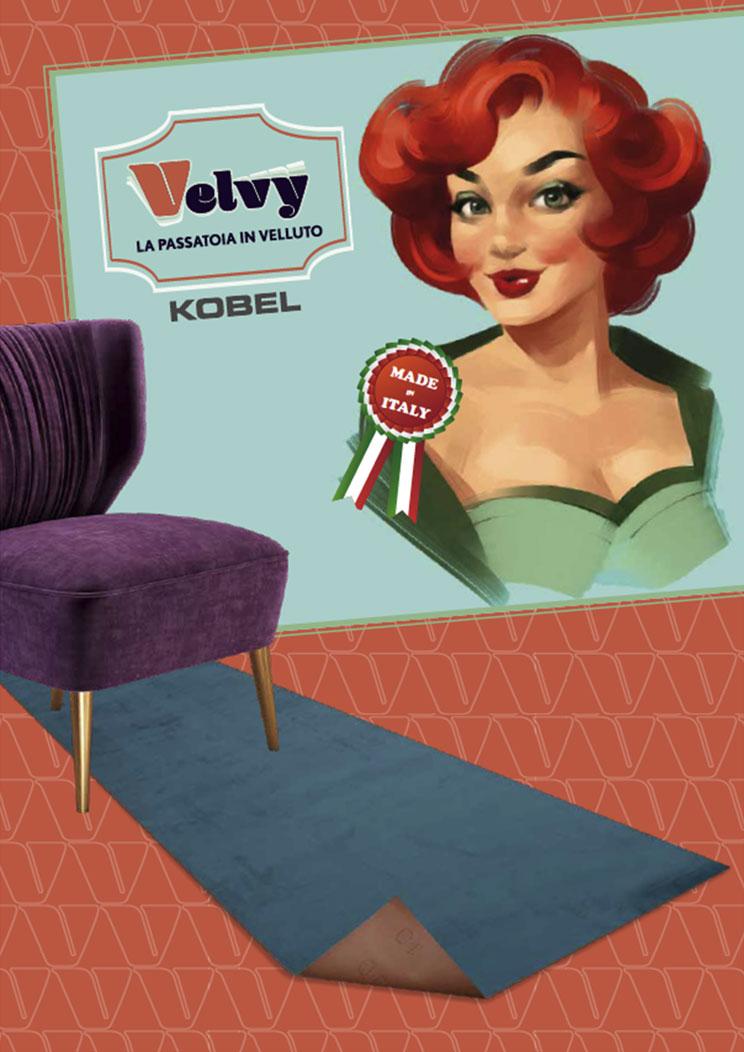 passatoie decorative velvy - Kobel Srl- Pavimenti, rivestimenti e tessili per il tuo business