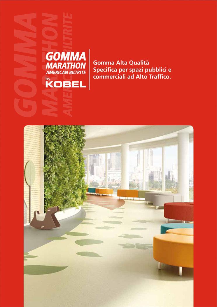 tech gomma marathon - Kobel Srl- Pavimenti, rivestimenti e tessili per il tuo business